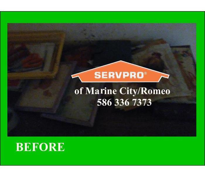 Contents restoration - Fire, Water, Mold, Biohazard, Cleanup,  Before