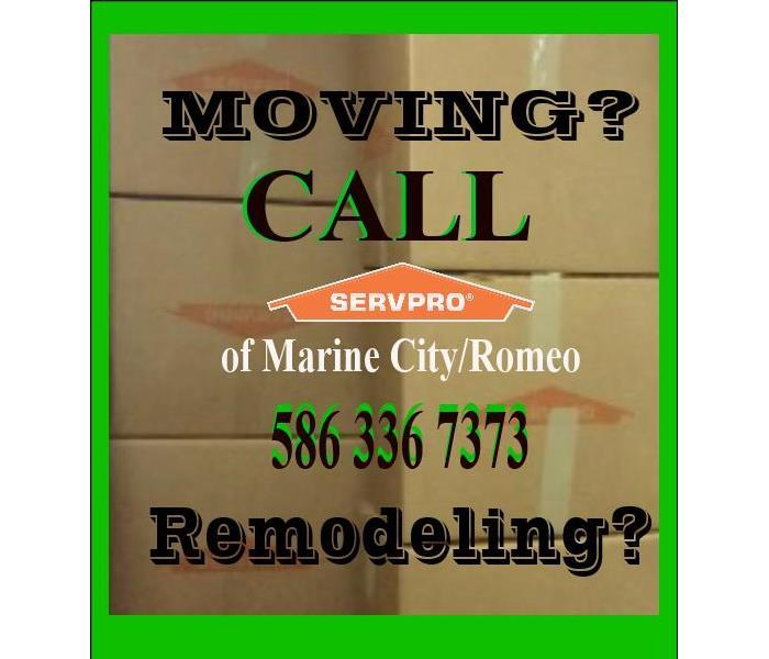 MOVING - REMODELING  BRUCE, CASCO, EAST CHINA, HARSENS ISLAND, CLAY, MARINE CITY