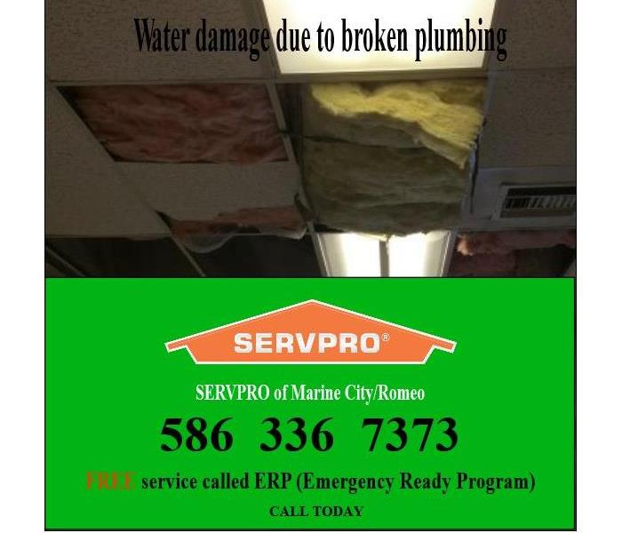 Commercial Bldg - Broken Plumbing