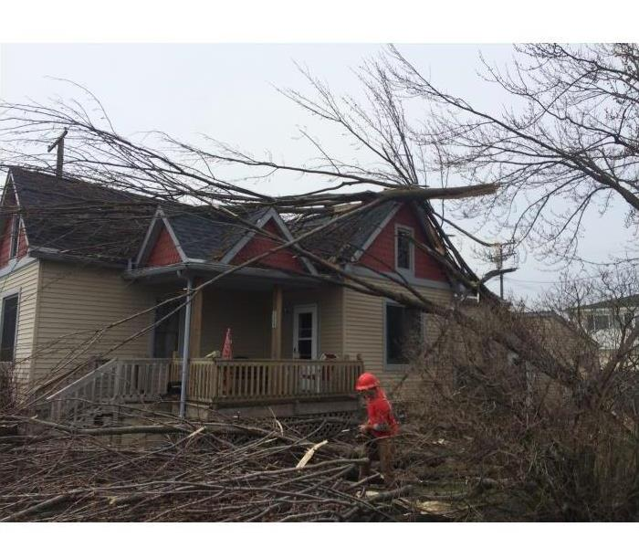 Storm Damage  Fair Haven MI