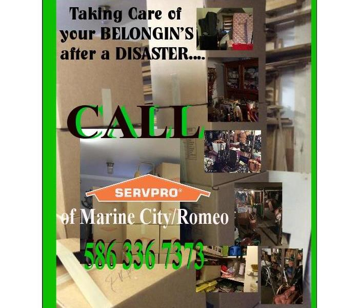 PACK UP BELONGINGS - Water Damage - ROMEO - BRUCE - CLAY