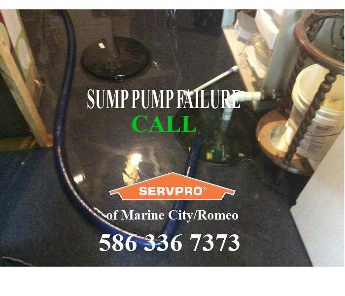 SUMP PUMP FAILURE - Should have a back up